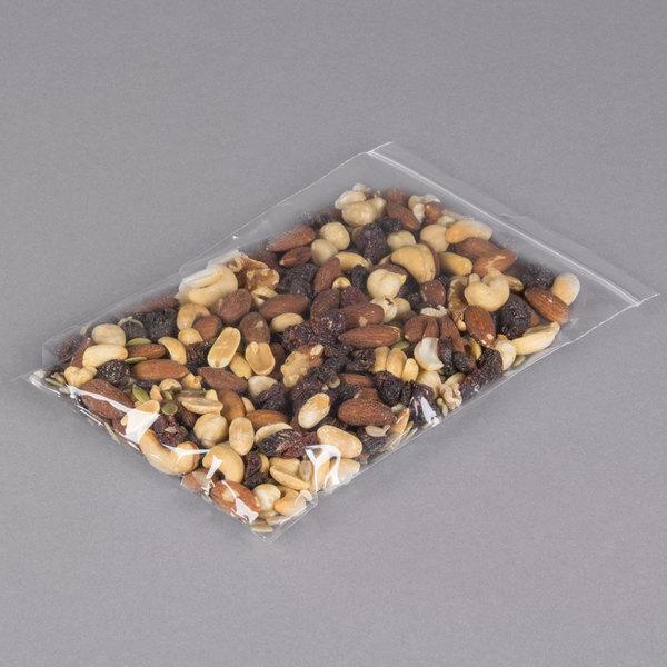 "Plastic Food Bag 6"" x 9"" Seal Top with Hang Hole - 1000/Box Main Image 3"