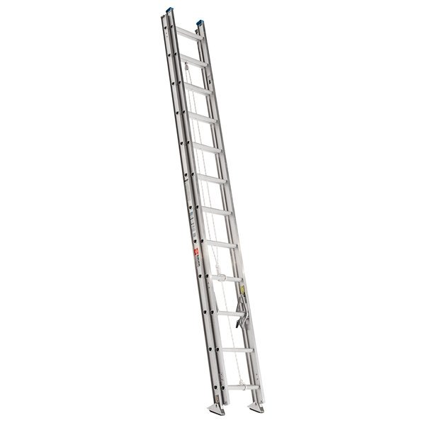 Bauer Corporation 22124 221 Series Type 1A 24' Aluminum Extension Ladder - 300 lb. Capacity Main Image 1