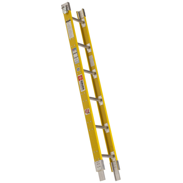 "Bauer Corporation 33306 333 Series Type 1A 6' Add-On Parallel Rail Sectional Ladder - 300 lb. Capacity - 12"" Wide Main Image 1"