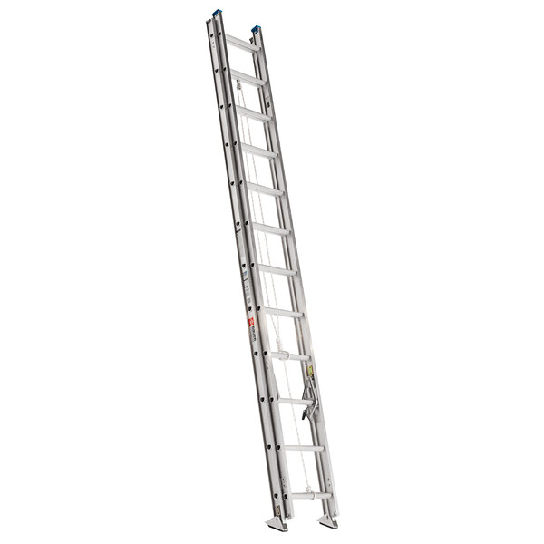 Bauer Corporation 22120 221 Series Type 1A 20' Aluminum Extension Ladder - 300 lb. Capacity Main Image 1