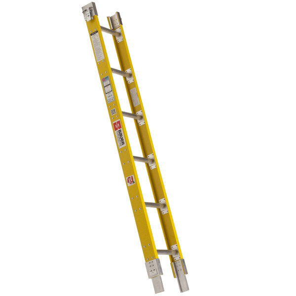 """Bauer Corporation 33336 333 Series Type 1A 6' Add-On Parallel Rail Sectional Ladder - 300 lb. Capacity - 17 3/4"""" Wide Main Image 1"""