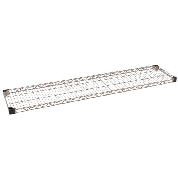 "Eagle Group QA1460C Quad-Adjust® Chrome NSF 14"" x 60"" Wire Shelf Main Image 1"
