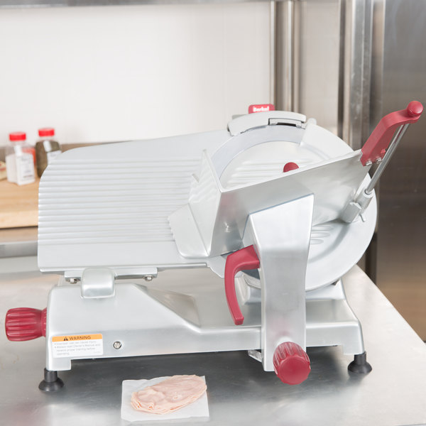"Berkel 829A-PLUS 14"" Manual Gravity Feed Meat Slicer - 1/2 hp Main Image 3"