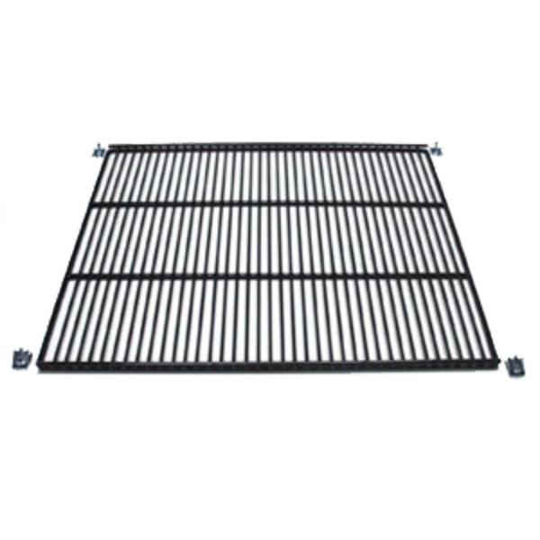 """True 951220 Stainless Steel Wire Shelf with Shelf Clips - 19"""" x 16 1/4"""""""