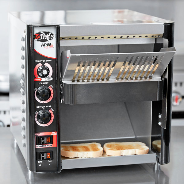"""APW Wyott XTRM-2H 10"""" Wide Conveyor Toaster with 3"""" Opening - 208V"""