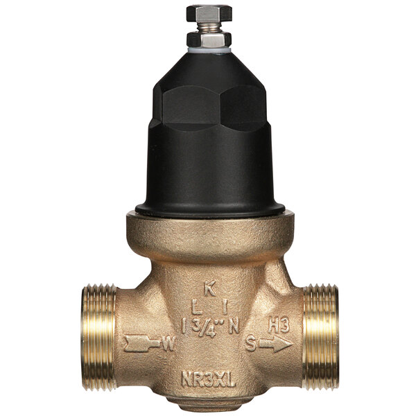 """Zurn 34-NR3XLDU 3/4"""" Double Union Water Pressure Reducing Valve with Integral By-Pass Check Valve and Strainer Main Image 1"""