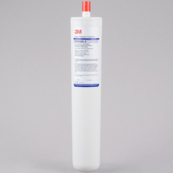 """3M Water Filtration Products 5632001 17 1/8"""" Retrofit Sediment, Chlorine Taste and Odor Reduction Cartridge with Scale Inhibition - 5 Micron and 1.67 GPM Main Image 1"""