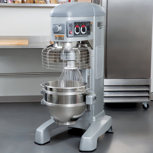 Hobart Legacy HL600-1STD 60 Qt. Commercial Planetary Floor Mixer with Standard Accessories - 200/240V, 2 7/10 hp