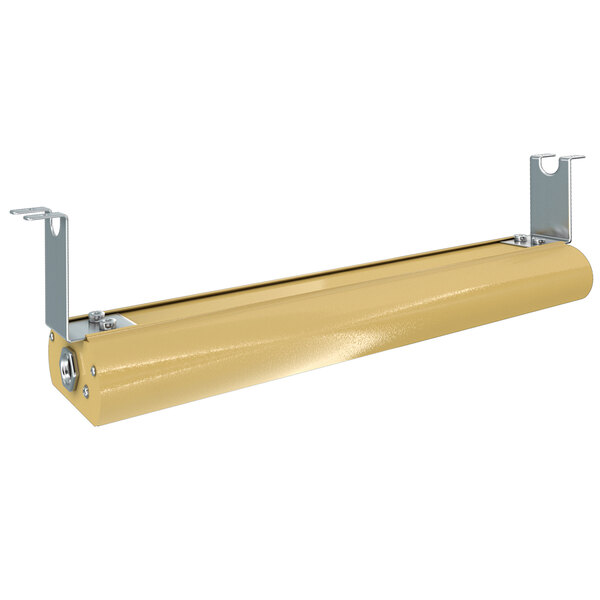 """Vollrath FC-4SH-24120-BR-SW 24"""" Low Profile Brass Strip Warmer with Toggle Controls - 120V, 553W Main Image 1"""