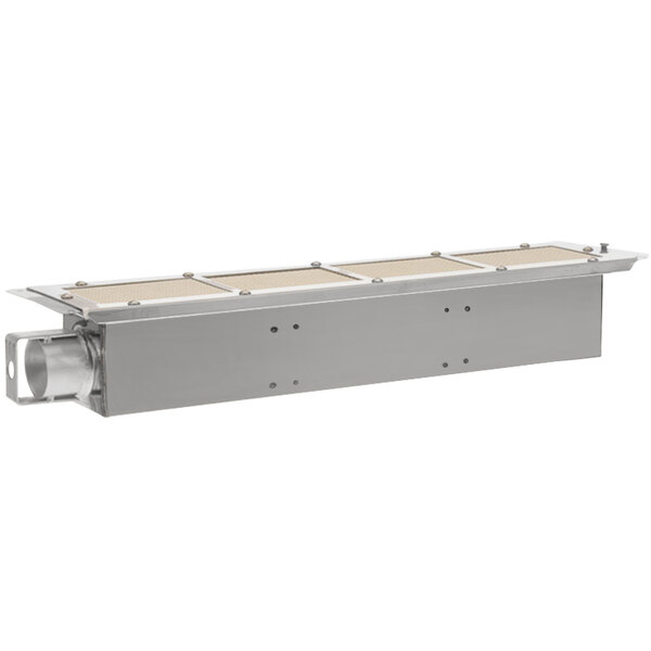 """Southbend 1163875 Equivalent 24 1/8"""" x 5 1/8"""" Infrared Broiler Burner - No Orifice Main Image 1"""