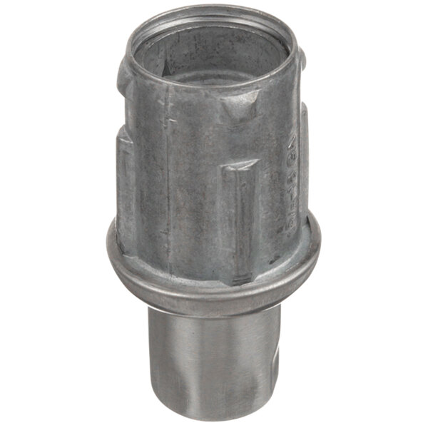 "Garland / US Range 1150502 Equivalent Stainless Steel 1 1/2"" Adjustable Bullet Foot for 1 5/8"" O.D. Tubing Main Image 1"
