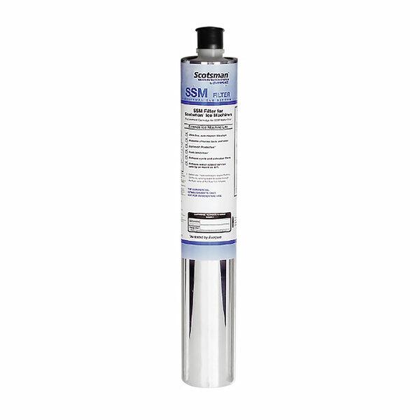 Scotsman SSMRC6 SSM Plus Single Ice Machine Water Filter for SSM1-P, SSM2-P, and SSM3-P; 0.5 Micron - 6/Pack Main Image 1