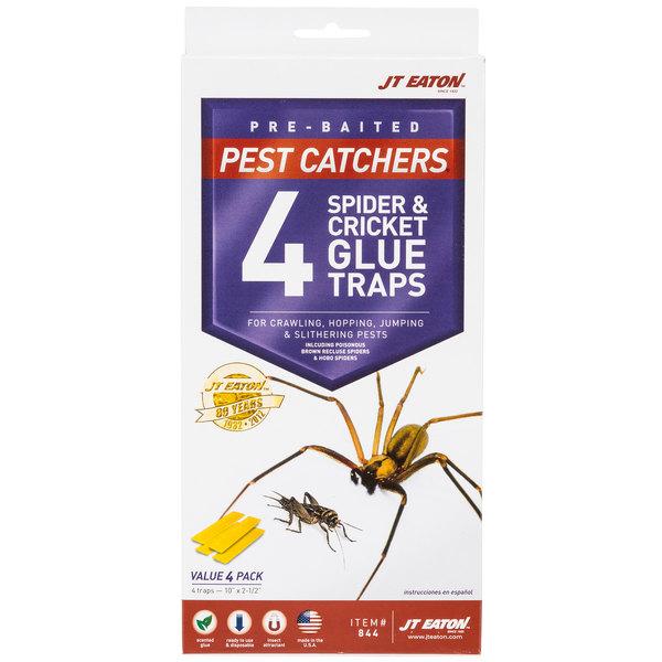 JT Eaton 844 Stick-Em Large Spider and Cricket Glue Trap - 4/Pack