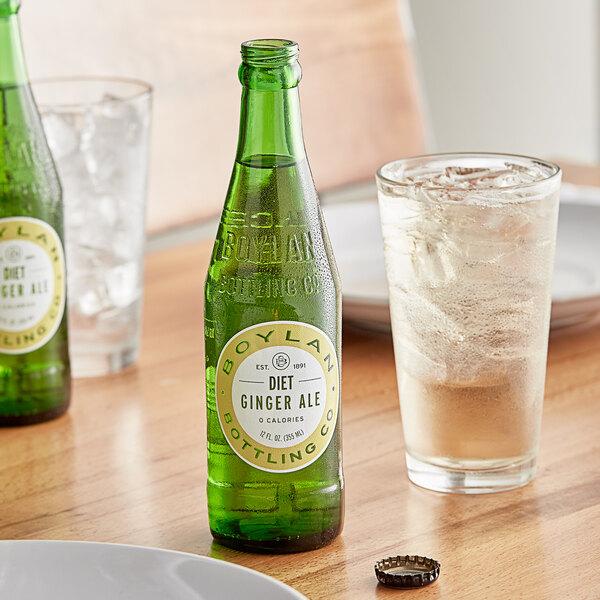 Boylan Bottling Co. 12 fl. oz. Diet Ginger Ale 4-Pack - 6/Case Main Image 2