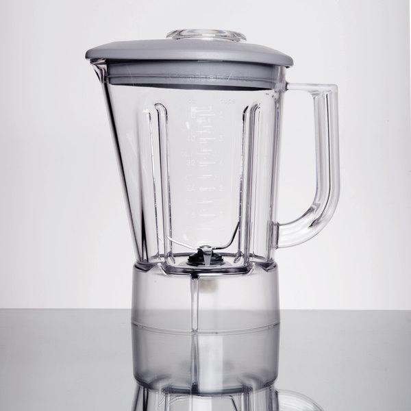 kitchenaid ksb48pel 48 oz bpa free pitcher with gray lid for
