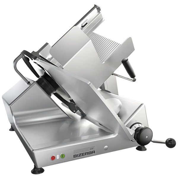 """Bizerba GSP V 2-150-GVRB 13"""" Manual Gravity Feed Meat and Cheese Slicer - 1/2 HP Main Image 1"""