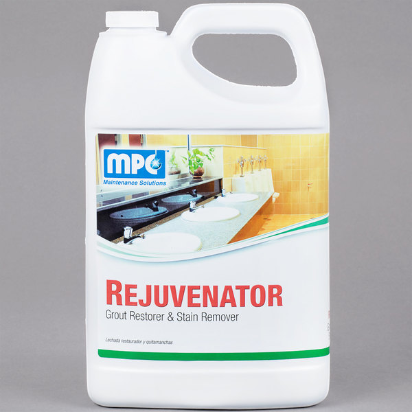 1 gallon / 128 oz. Rejuvenator Grout Restorer & Stain Remover - 4/Case