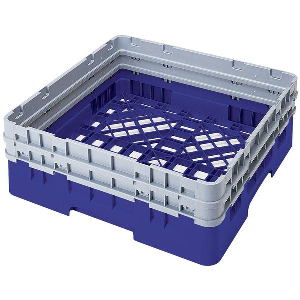 Cambro BR578168 Blue Camrack Full Size Open Base Rack with 2 Extenders Main Image 1