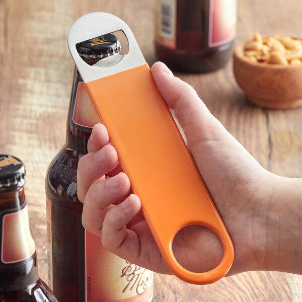 """Choice 7"""" Orange Bottle Opener Main Image 2"""