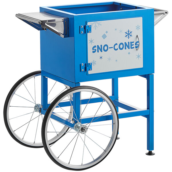 Snow Cone Vending Cart