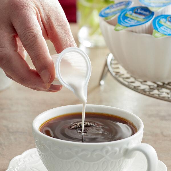 Splenda Sugar-Free French Vanilla Creamer Single Serve Cups - 180/Case Main Image 2