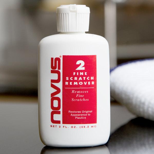 Novus PN-7033 2 oz. Plastic Polish #2 Fine Scratch Remover