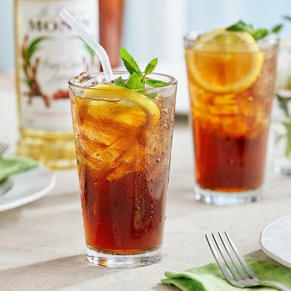 Monin 1 Liter Premium Pure Cane Syrup Main Image 2