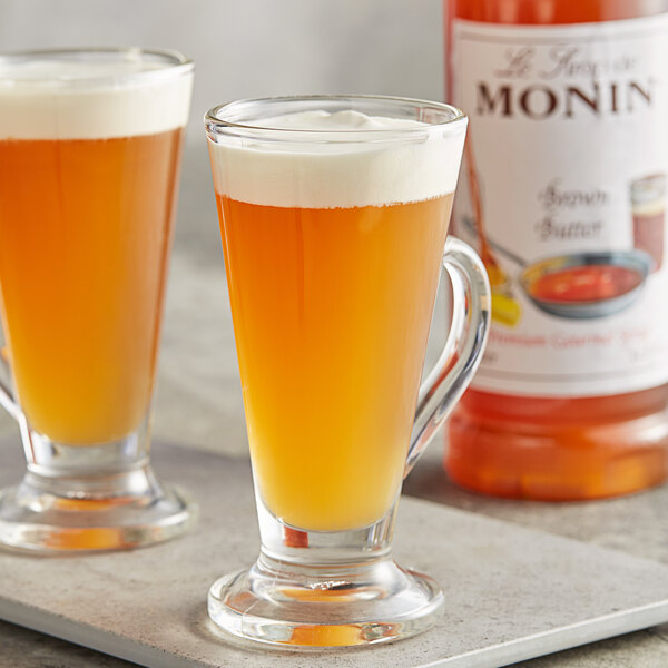 Monin 1 Liter Premium Brown Butter Flavoring Syrup Main Image 2