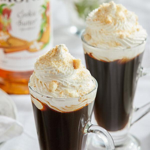 Monin 1 Liter Premium Cookie Butter Flavoring Syrup Main Image 2