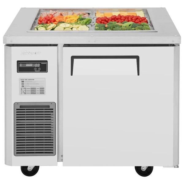 "Turbo Air JBT-36 35 3/8"" Refrigerated Buffet Display Table"