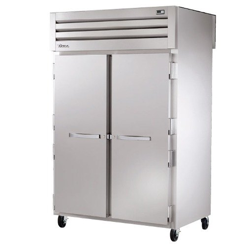 True STG2RPT-2S-2S Specification Series Two Section Pass-Through Refrigerator with Solid Doors