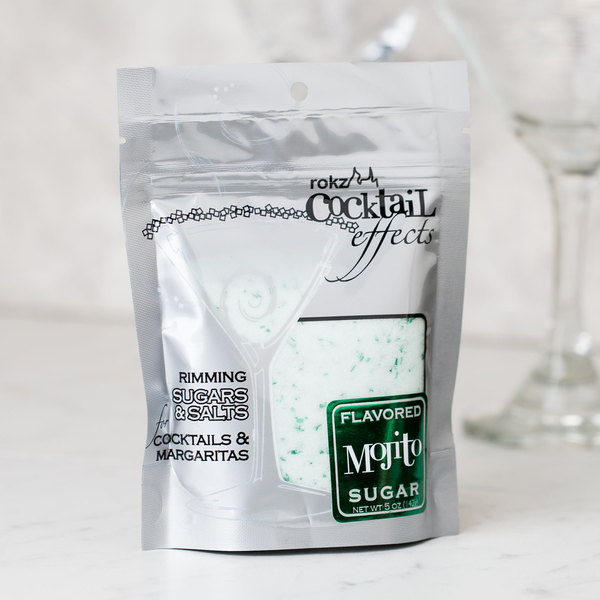 Rokz Mojito Cocktail Rim Sugar - 5 oz.