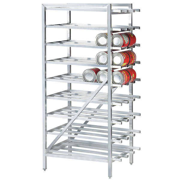 Advance Tabco CR10-162 Spec Line #10 Aluminum Can Rack Stationary - Full Size Main Image 1