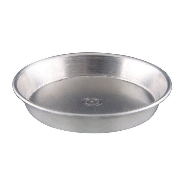 "American Metalcraft ADEP18 18"" x 1"" Standard Weight Aluminum Tapered / Nesting Dish Dish Pizza Pan"