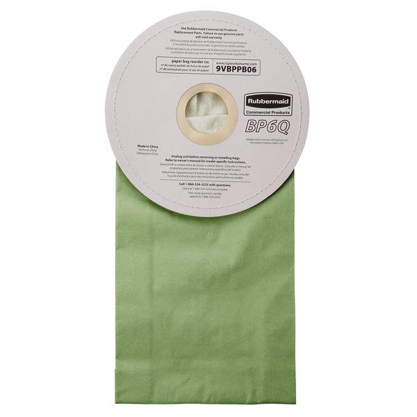 18391a21c40a Rubbermaid FG9VBPPB06 6 qt. Paper Vacuum Bag - 10 Pack