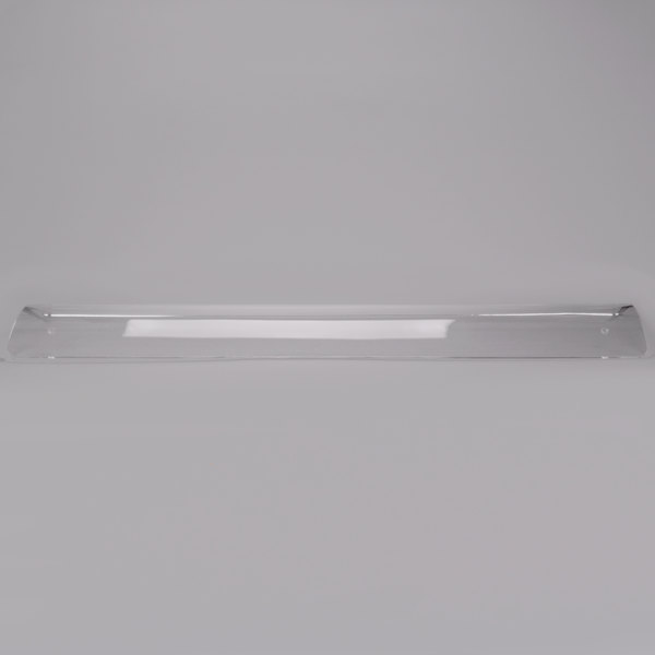 """Vollrath 9870624 24"""" Replacement Acrylic Panel for Vollrath MB98719 Sneeze Guard"""