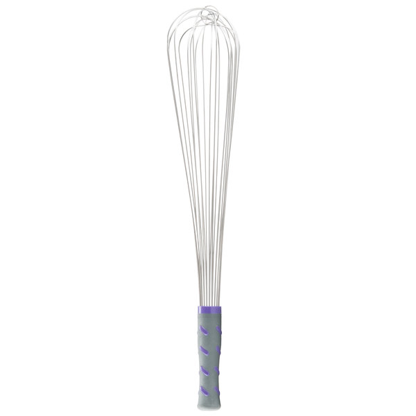 "Vollrath 47006 Jacob's Pride 18"" Piano Whip/Whisk with Nylon Handle"