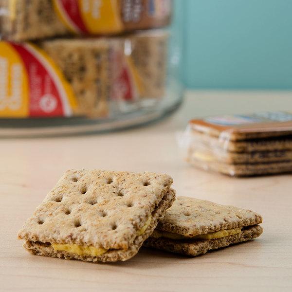 Lance Whole Grain Cheddar Sandwich Crackers 20 Count Box - 6/Case