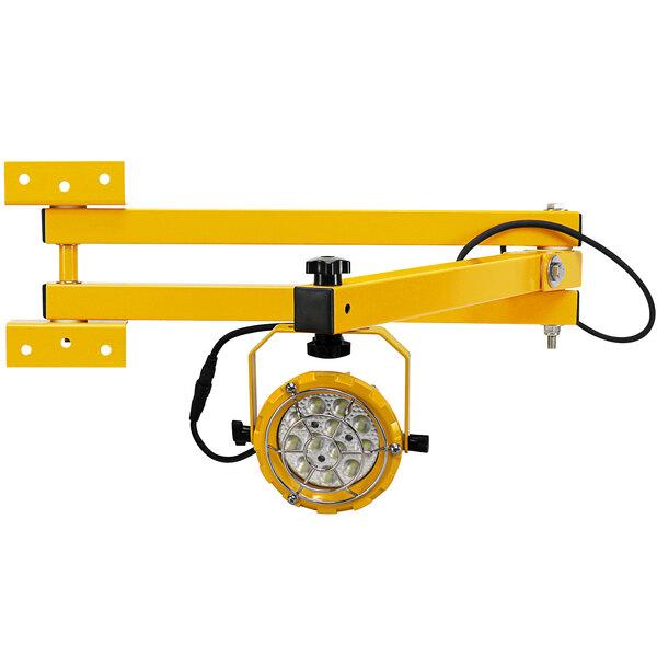 "TPI Fostoria DKLED-42-30W LED Loading Dock Light with 42"" Double Arm - 30W, 3300 Lumens, 120V Main Image 1"