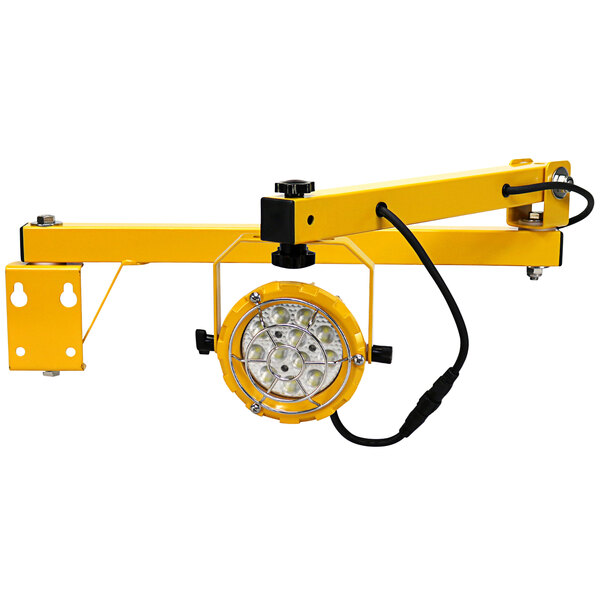 "TPI Fostoria DKLED-40-30W LED Loading Dock Light with 40"" Single Arm - 30W, 3300 Lumens, 120V Main Image 1"
