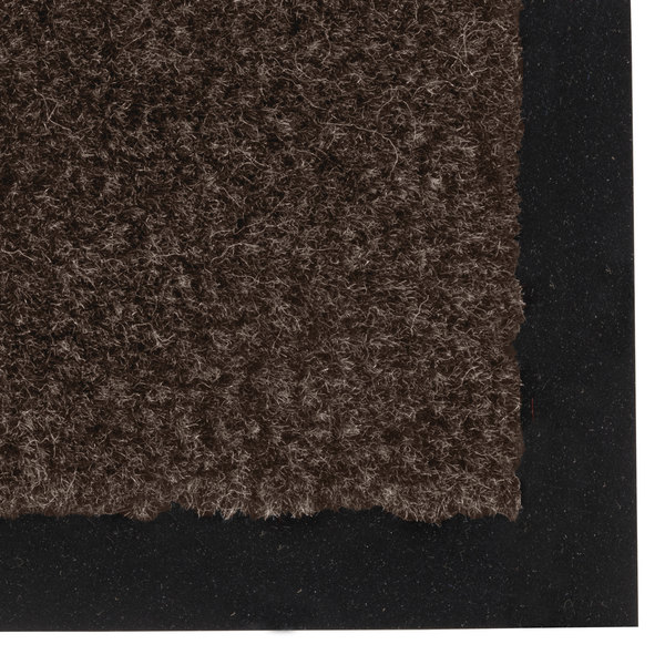 "Notrax 130 Sabre 3' x 60' Dark Toast Roll Carpet Entrance Floor Mat - 3/8"" Thick Main Image 1"