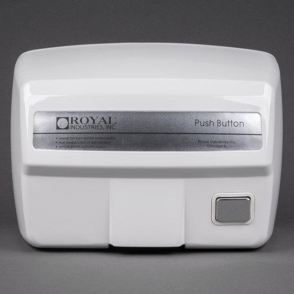 Royal 2200ES Electric Hand Dryer - 120V, 2200W Main Image 1