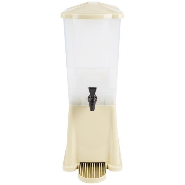 Tablecraft 356DP 3 Gallon Slimline Beverage / Juice Dispenser