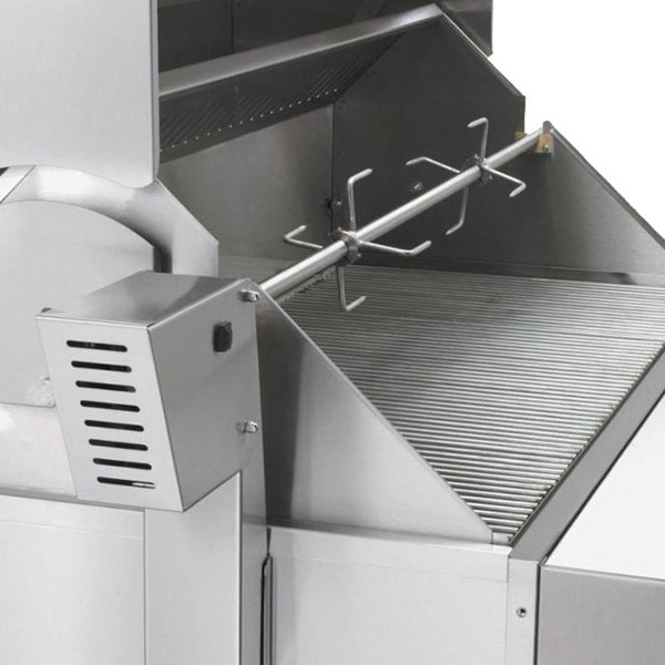 """Crown Verity RT-30BI 30"""" Built-In Grill Rotisserie Assembly"""
