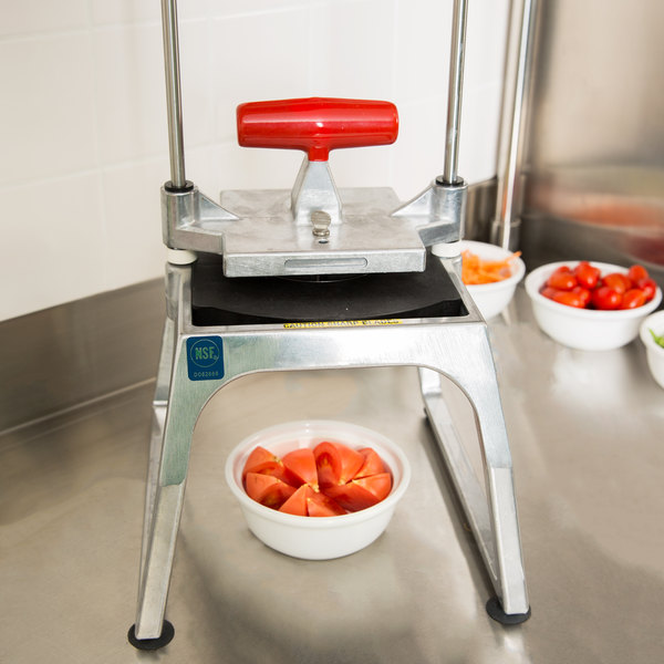 Vollrath 15152 Redco InstaCut 5.0 8 Section Fruit and Vegetable Wedger - Tabletop Mount