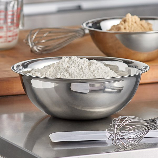 Vollrath 47935 5 Qt. Stainless Steel Mixing Bowl Main Image 3