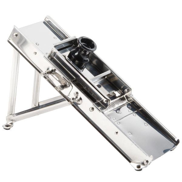 Stainless Steel Mandoline Slicer with 3 Interchangable Blades