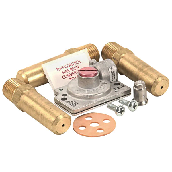 APW Wyott 390233 Conversion Kit - Natural Gas To Liquid Propane for APWF-4050 Fryers Main Image 1