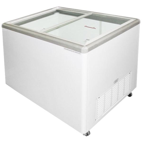 Excellence EURO-13HC Ice Cream Flat Top Flat Lid Display Freezer - 12.5 cu. ft. Main Image 1