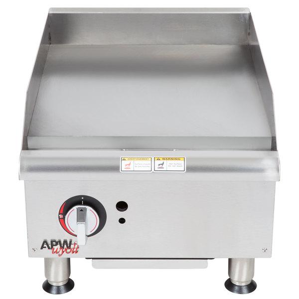 """APW Wyott GGM18i 18"""" Countertop Griddle - 37,500"""